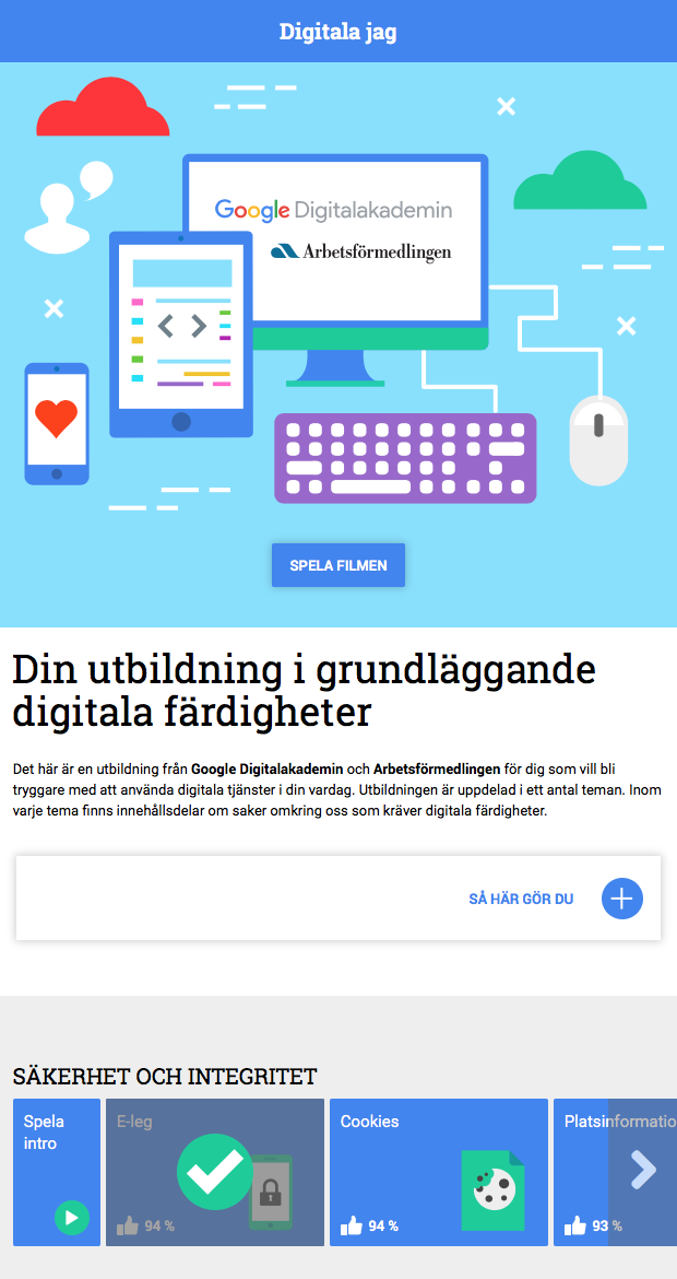 Google - Digitala jag